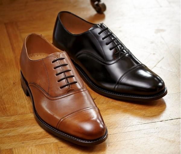 Sepatu Pantofel Pria Model Oxford (Balmoral)