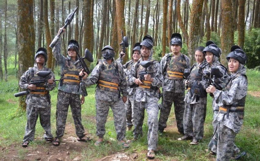 Air Soft Gun Mojosemi Forest Park