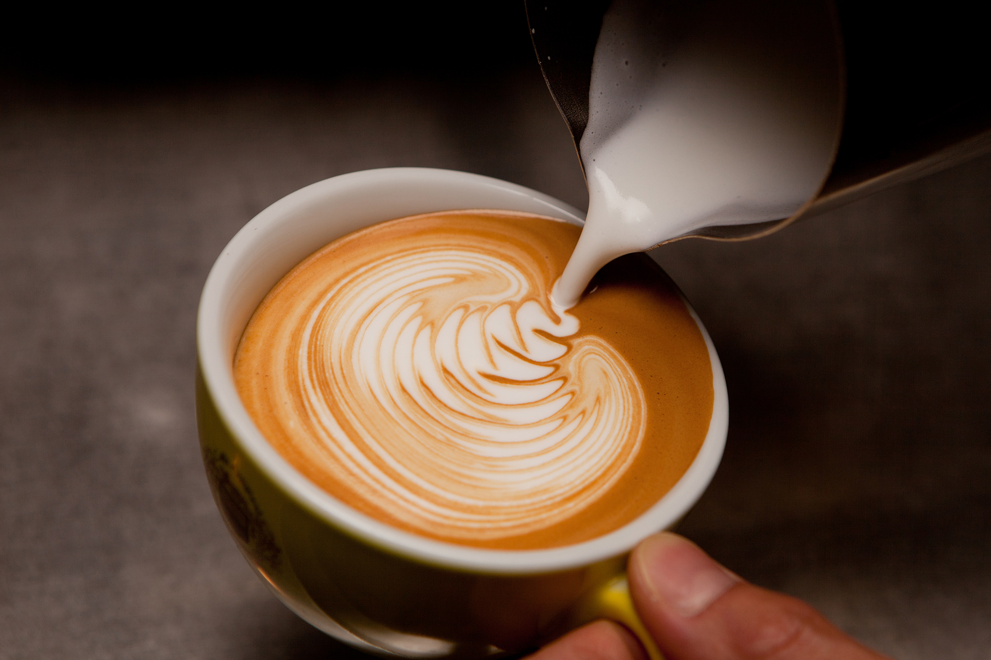 how to make coffee art like a pro