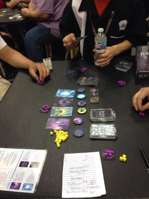 Nevermore, a hand-drafting, magic wielding game where you get to turn your friends into ravens!