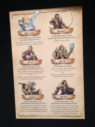 The six player classes