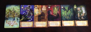 Get rid of your escape cards to find your way out of R'lyeh!