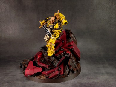 Sigismund, First Captain of the Imperial Fists