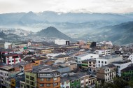 Downtown Manizales and Morro San Cansio© Gus Morainslie
