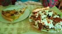 Kebab Ayam dan Pizza Pesanan Kami