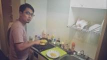 Bebas memasak di dapur