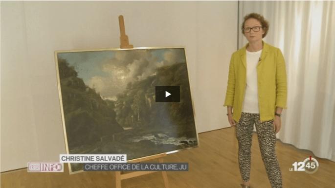 Un tableau inédit de Courbet sur la RTS