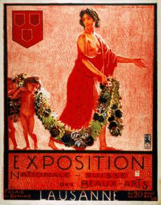 Affiche de l'Exposition Nationale Suisse des Beaux-Arts de 1906