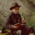 Détail Botaniste de Raphael Ritz (1883)