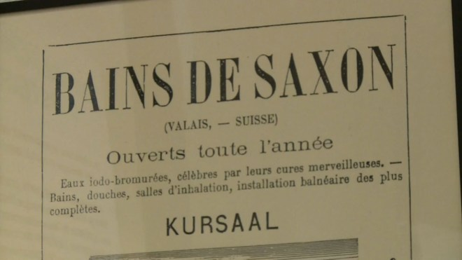 Bains de Saxon