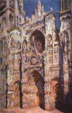 Cathédrale Notre-Dame de Rouen, par Claude Monet