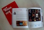 Libro-catálogo de Art Expo Malaysia 2012, feria internacional en la que Charif representó a la Argentina (Kuala Lumpur, September 2012).