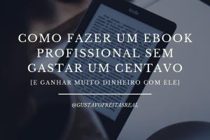 como fazer um ebook profissional