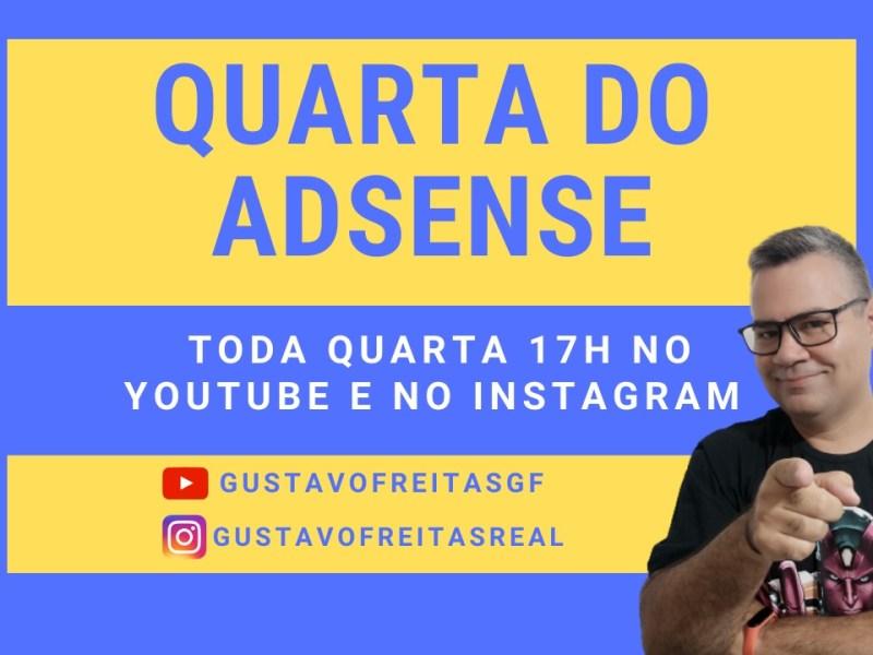Quarta do Adsense Gustavo Freitas
