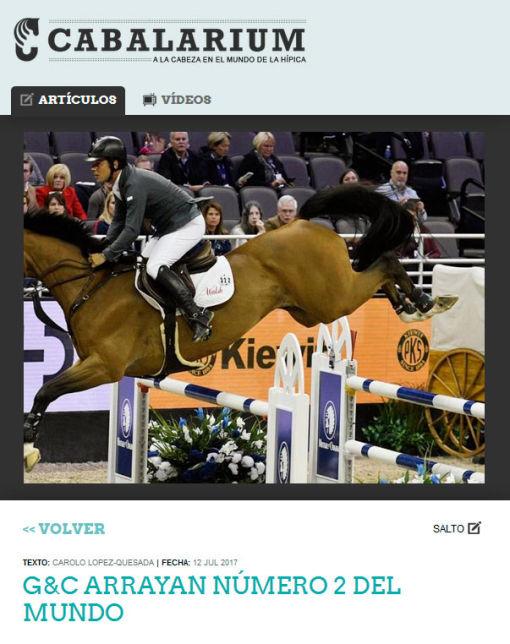 G&C Arrayan: Equestrian Success