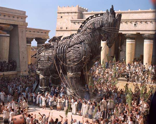 The Trojan Horse - The horse in universal literature