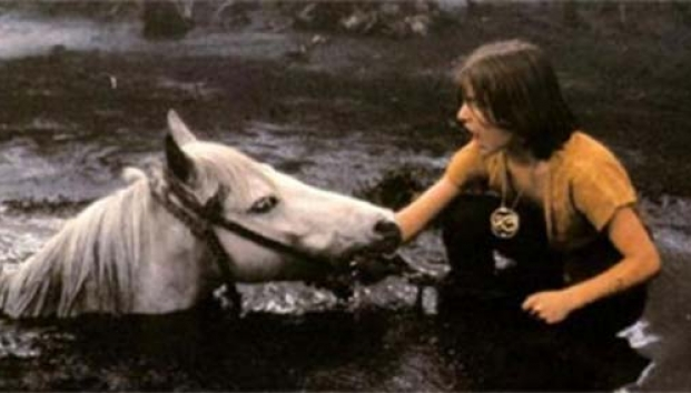 Artax the Horse and Atreyu in Sadness Swamp