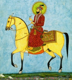 Muhammad and his horse Lazlos