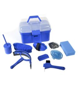 Grooming kit for horse cleaning