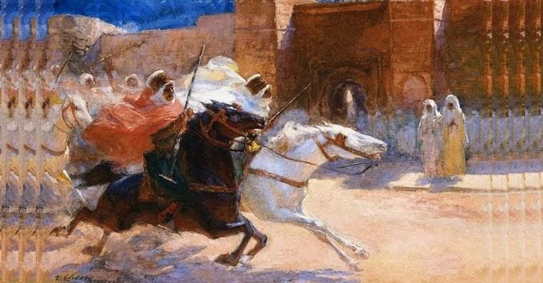 Lazlos horse of Muhammad