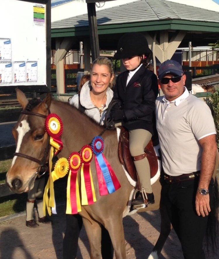 Gustavo Mirabal happy with his family
