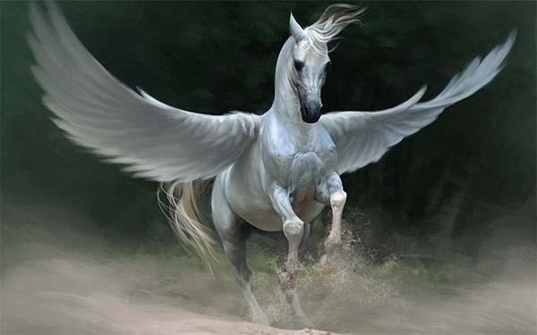 Pegasus Winged Horse - Mythological horses