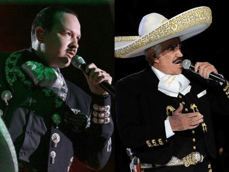 Pepe Aguilar and Vicente Fernandez - Iconic Mexican Charros