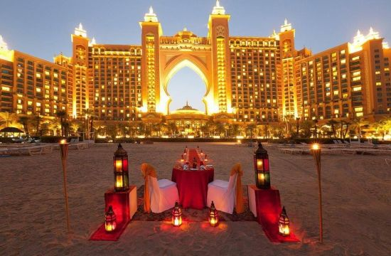 Romantic Dinner in Dubai
