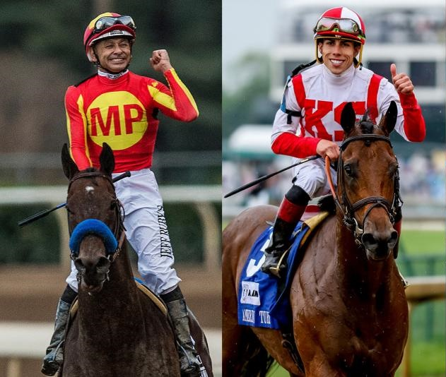 Mike Smith and Jose Ortiz Jr Gunnavera 's jockeys