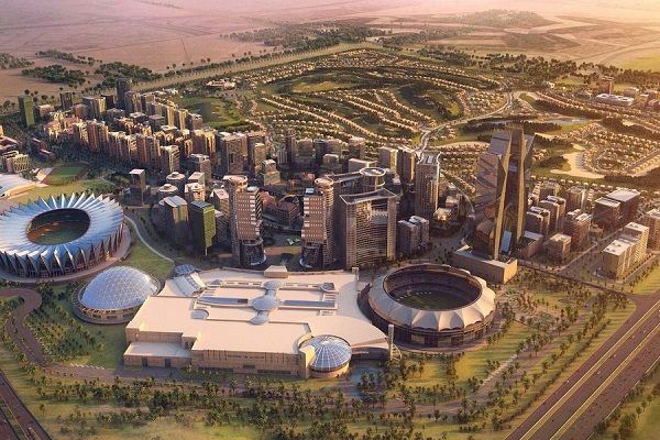 Dubai Sports City - Dubai Architecture