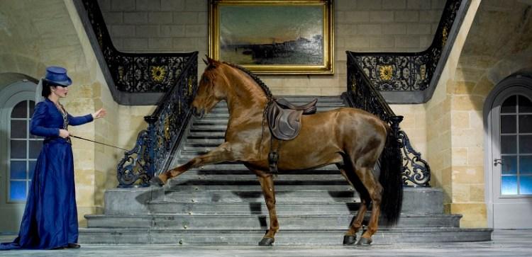 Clémence Faivre on fire in Madrid Horse Week