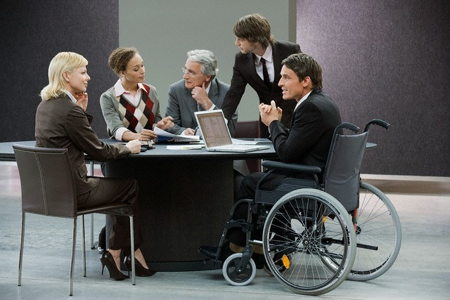 People with disabilities in the workplace