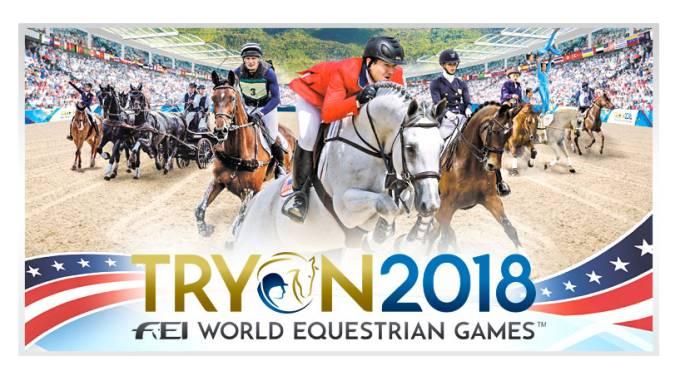 Poster Nro 2 de los Juegos Ecuestres Mundiales Tryon 2018