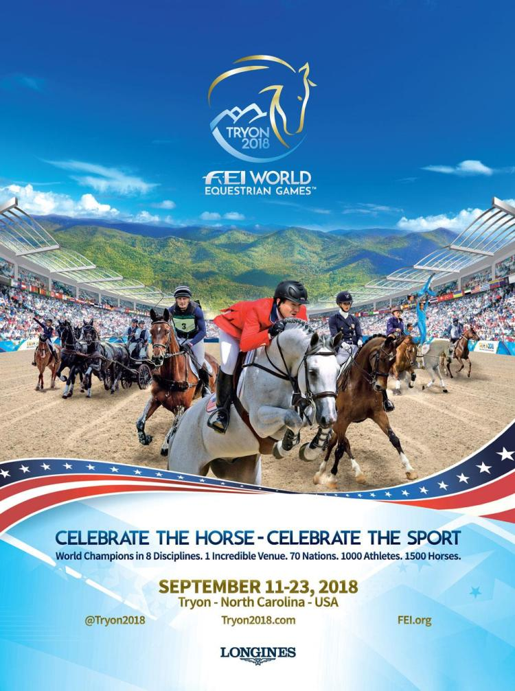 Poster of World Equestrian Games Tryon 2018