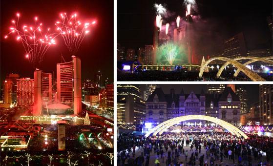 Desfile de luces Toronto - Canadá