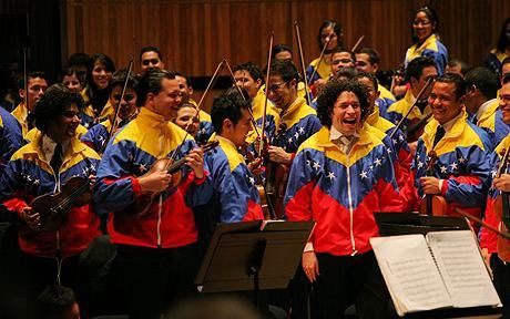 Dudamel and the Simón Bolivar Youth Orchestra