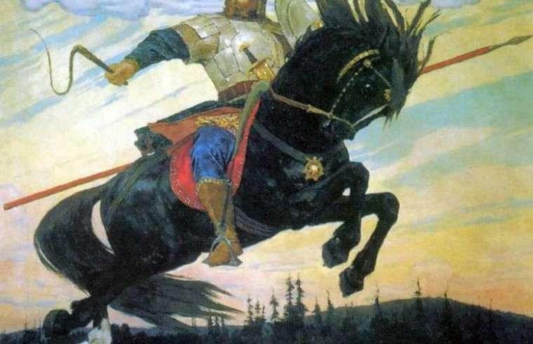 El Bogatyrsky Skok - Viktor Vasnetsov