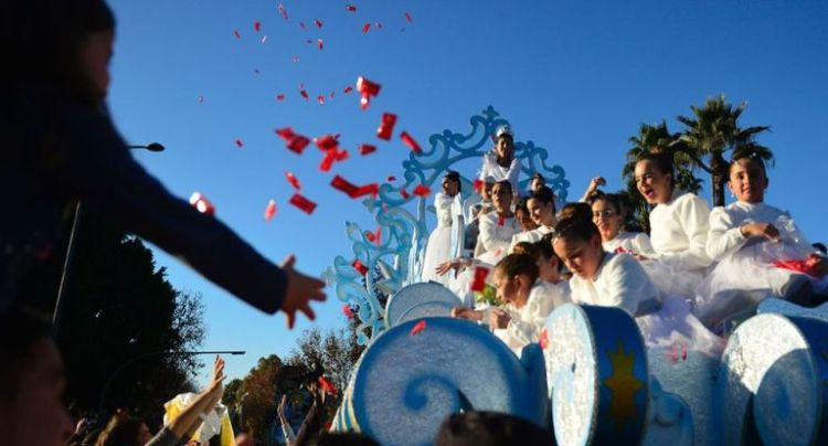 Kings Day celebration in Spain - Three Wise Men Day celebration in Spain