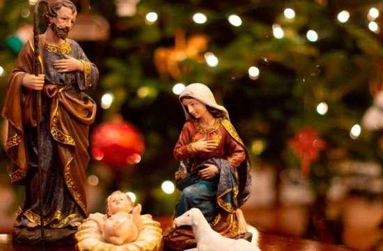 Nacimiento, un elemento de las celebraciones de Navidad.