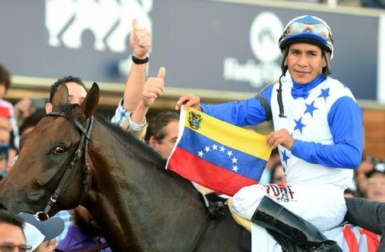 EL caballo campeón The Brother Slew en el Clásico del Caribe