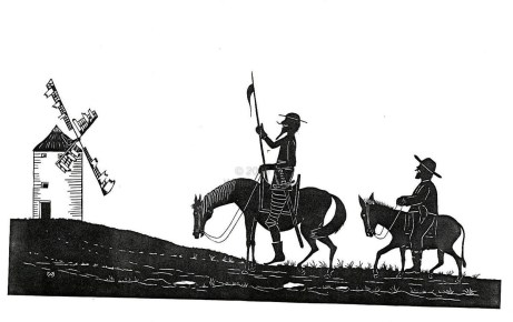 The ingenious Gentleman Don Quixote de la mancha - Among fables and truths...