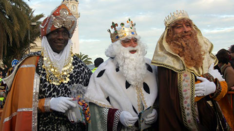 Three Wise Men Day celebration in Spain - Valencia