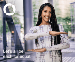 International Women's Day 2020 campaign theme is #EachforEqual