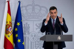 Pedro Sanchez declares states of alarm because Coronavirus in Spain