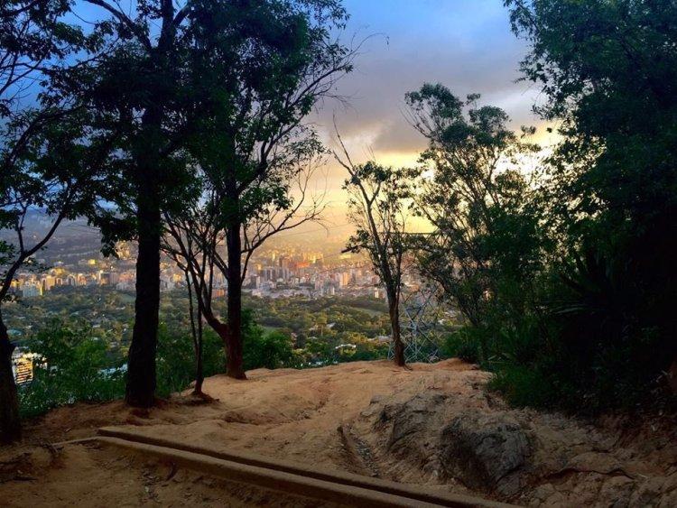 Climbing road to Sabas Nieves - El Avila National Park - Caracas