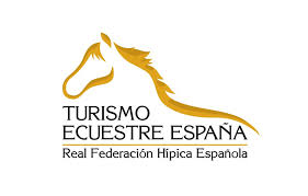 Logo designed to identify Equestrian Tourism activities in Spain