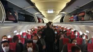Flights in coronavirus times