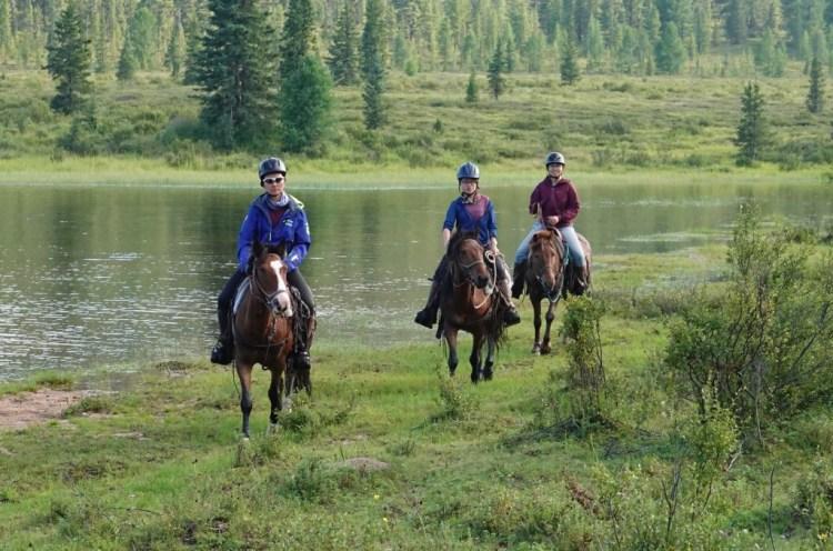 cabalgatas en Mongolia