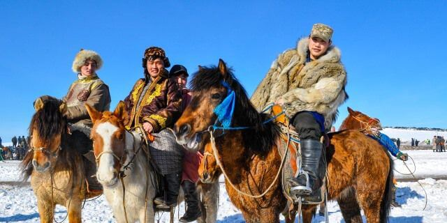 Smile to adventure in Mongolia