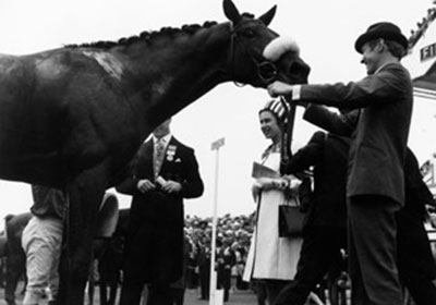 First horse race in Ascot racecouse